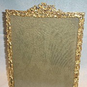 French Gilded Brass Frame