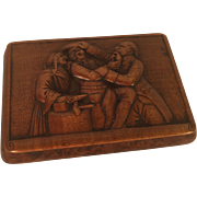 Snuff Box - Dentist pulling a tooth