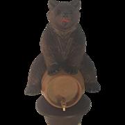 Black Forest Bear Bottle Cork