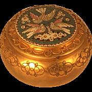 Italian Gilt Brass Mosaic Box