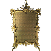 French Ormalu Bronze Frame