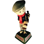 Dunlop UK Golf Ball Advertising Figure - c1930's