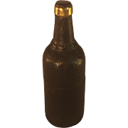 Bottle Shaped Travel Ink - Leather Covered