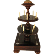 Rosewood Bobbin Stand with MOP Inlay