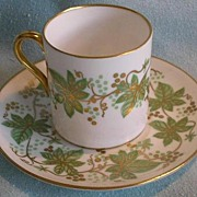 REDUCED Shelley Coffee/Demi-Tasse Cup & Saucer