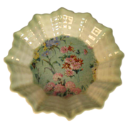SALE Shelley Melody Chintz Fluted Nut Dish