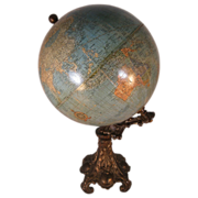 "Cram's Imperial 9"" Globe on base"