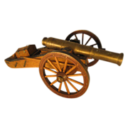 18th Century Wall Breaching Cannon Model - Working