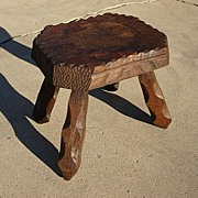 French Antique Rustic Stool Antique Furniture
