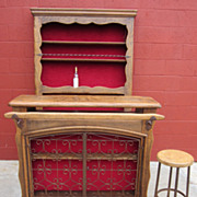 Spanish Antique Bar Antique Front and Back Bar Antique Architectural Furniture