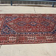 Antique Hand Made Persian Oriental Rug Carpet
