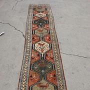Antique Hand Made Oriental Carpet Rug Persian Rug Afghan Carpet Runner