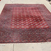 Beautiful Antique Wool Persian Rug Oriental Carpet