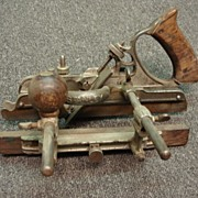 Antique Stanley #45 Wood Plane Antique Hand Held Wood Working Tools