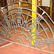 Beautiful Original Antique Hand Forged French Iron Arch