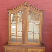 French Antique China Cabinet Display Cabinet Bookcase Antique Furniture