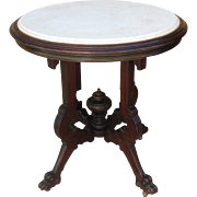 American Antique Victorian Table Eastlake Antique Side Table Antique Furniture