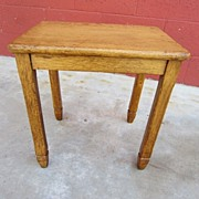 Antique Furniture French Antique Rustic Stool Antique Bench