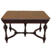 French Antique Table Antique Library Desk Antique Furniture