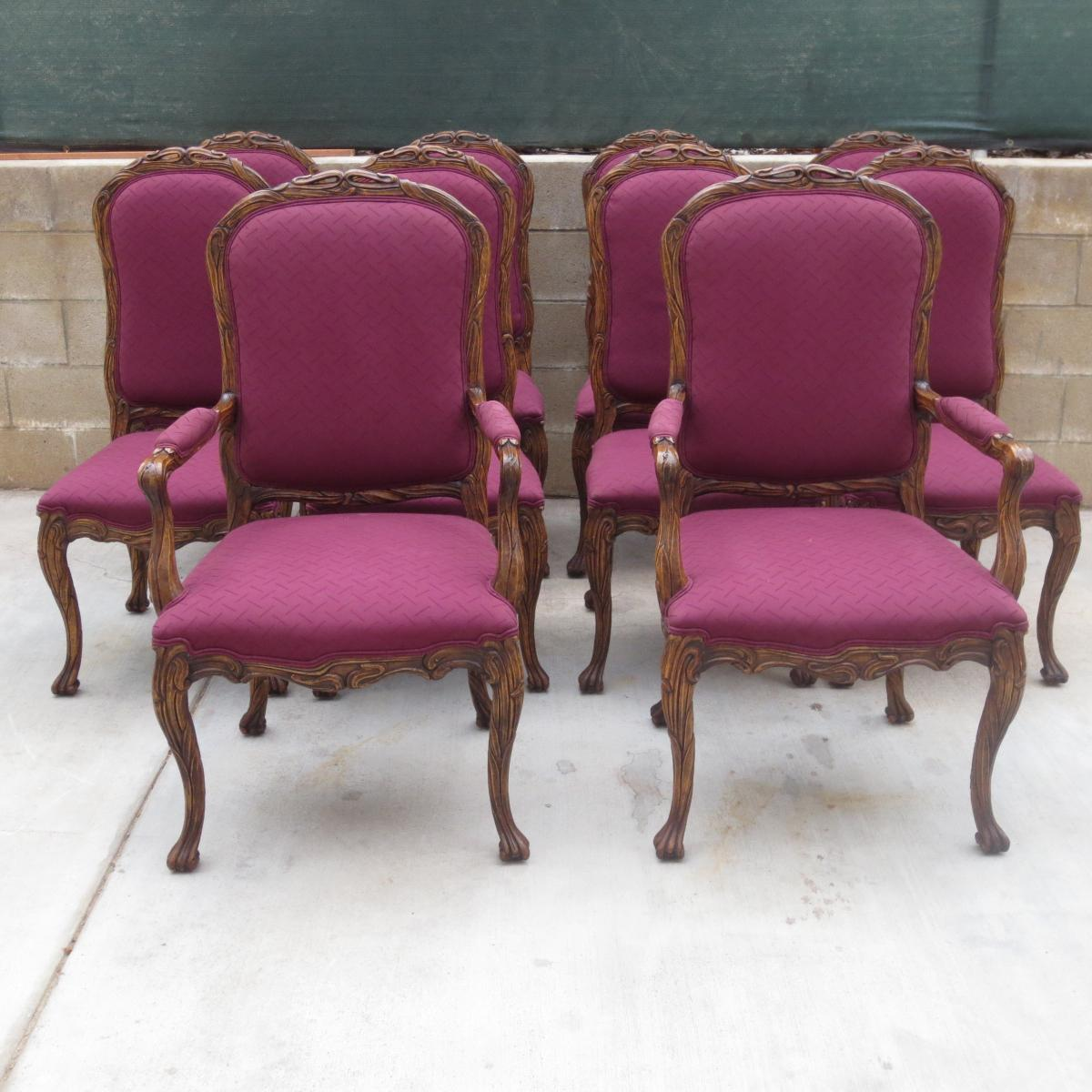 french dining chairs set of 10 french dining room