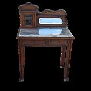 SOLD French Antique Desk Antique Work Table Antique Furniture