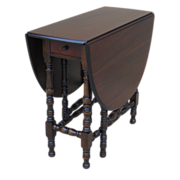 American Antique Drop Leaf Table Antique Furniture