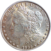 Morgan Silver Dollar 1882 VG