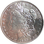 Morgan Silver Dollar 1883 (O) VG