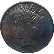 Peace Silver Dollar 1925 (EF)