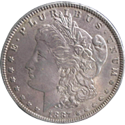 Morgan Silver Dollar 1921 XF