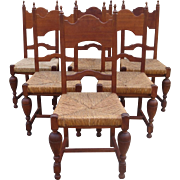French Antique Dining Chairs Set of Antique Chairs Antique Furniture