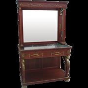 French Empier Antique Console Antique Buffet Antique Furniture