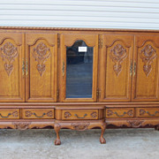 French Antique Sideboard Server China Cabinet Antique Furniture