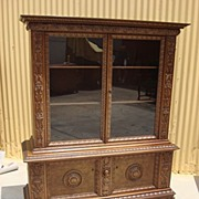 Antique Furniture French Antique Chippendale China Cabinet Antique Display Cabinet Curio ...