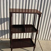 Vintage American Book Stand / Side Table / Lamp Stand
