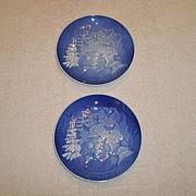 1981 Bing & Grondahl Christmas Plate(s) (2)