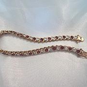 Sterling 925 Silver Tennis Bracelet