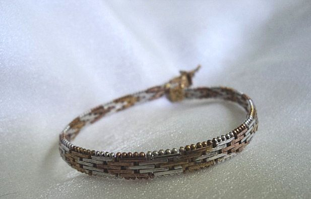 Sterling Silver Mesh Bracelet Made in Italy