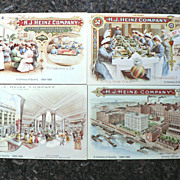 Vintage Heinz 57 Company Advertising Centennial Post Card Cards (4)