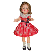 "Pretty 1959 Ideal Shirley Temple 17"" Doll Great Condition"