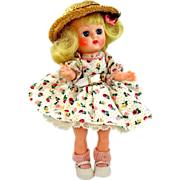 1950s Cosmopolitan Ginger Doll A/O Large Eye SLW