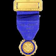 New York State Assn of Fire Chiefs Badge 1950
