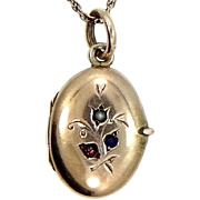 Cute Victorian Gold Filled Locket