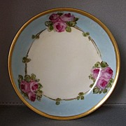 SALE PIN DISH roses hand painted by Cayley