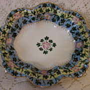 VIENNA PORCELAIN 1920-30's hand gilded pin dish