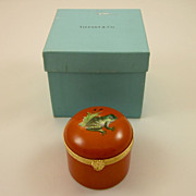 SOLD TIFFANY Private Stock 'Frog' clairette box Le Tallec 1980