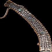 REDUCED Weiss Rhinestone Bracelet   7 inches