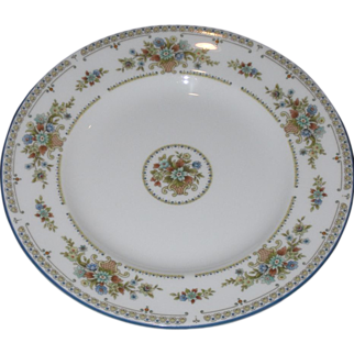 """Vintage Wedgwood 6"""" Bread and Butter Plate – Petersham Pattern"""