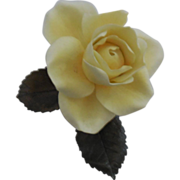 Boehm Rose - Elegance – Yellow - Slightly damaged