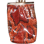 REDUCED Vintage Snakeskin Python Cigarette Case